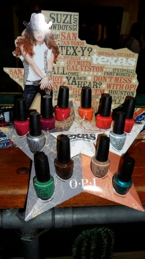 OPI Texas Collection 2011