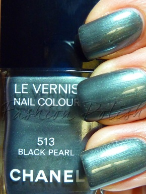 chanel black pearl swatch