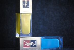 YSL Surreal Yellow & Utopian Turquoise
