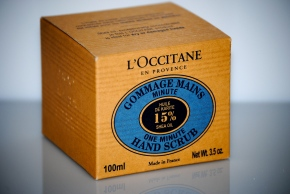 L'Occitane One Minute Hand Scrub (box)