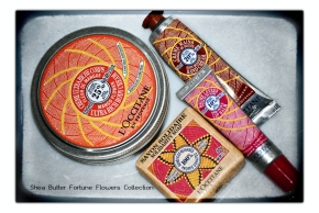 Shea Butter Fortune Flowers Collection