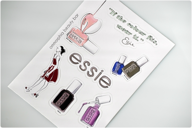 Essie stickers