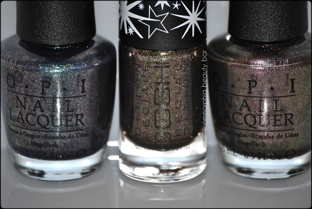 Gosh Galaxy vs OPI comparisons
