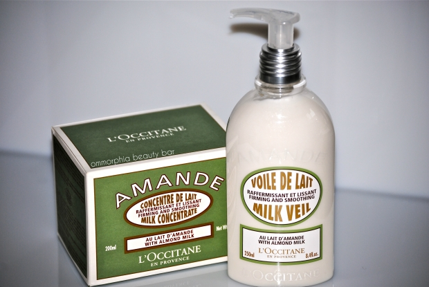 L'Occitane Milk Veil & Concentrate (closer)
