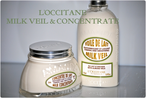 L'Occitane Milk Veil & Concentrate (opener)