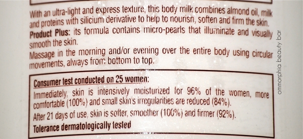 L'Occitane Milk Veil directions