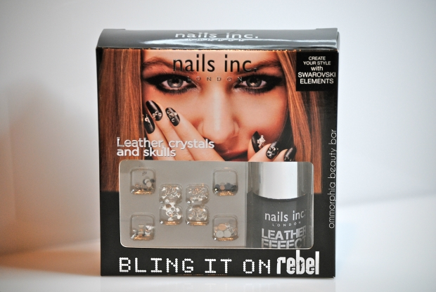 nails inc. Leather Effect box