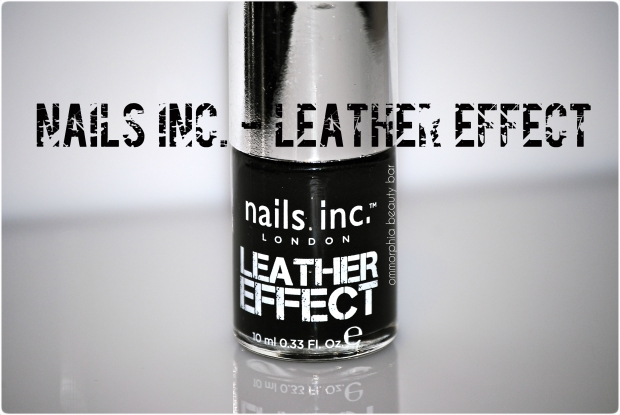 nails inc. Leather Effect (opener)