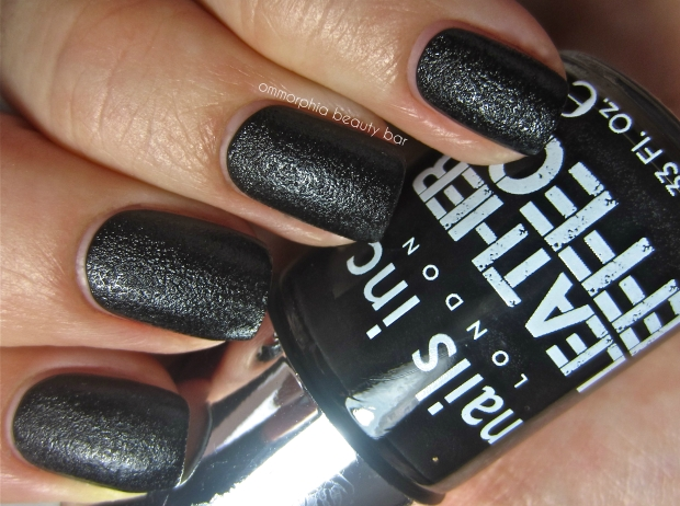 nails inc. Leather Effect swatch 2