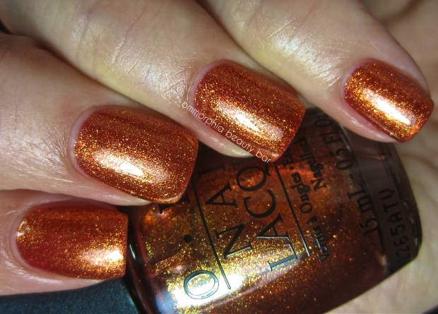 OPI A Woman's Prague-ative swatch 2