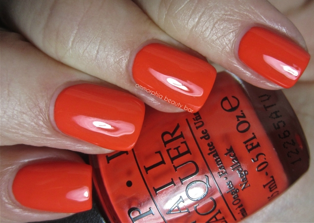 OPI My Paprika Is Hotter Than Yours! swatch 2