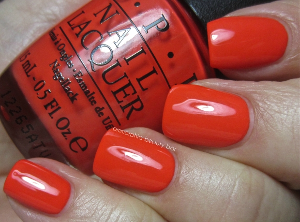 OPI My Paprika Is Hotter Than Yours! swatch