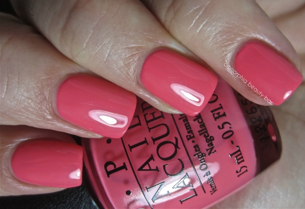 OPI Suzi's Hungary Again! swatch 2