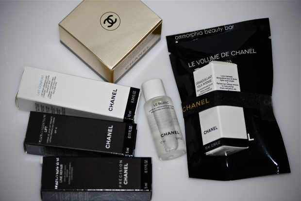 CHANEL sample perks