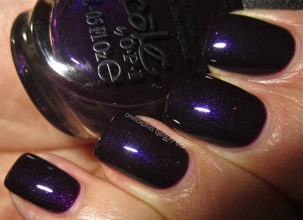 NOPI Plum to your Senses! swatch flash