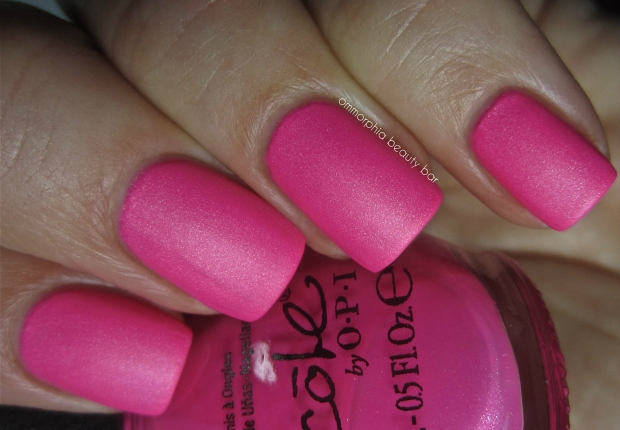 NOPI Still into Pink swatch 2