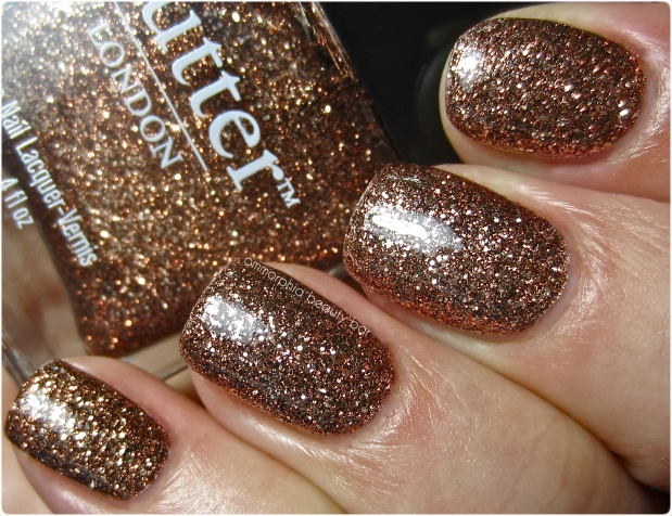BL Bit Faker swatch top coat