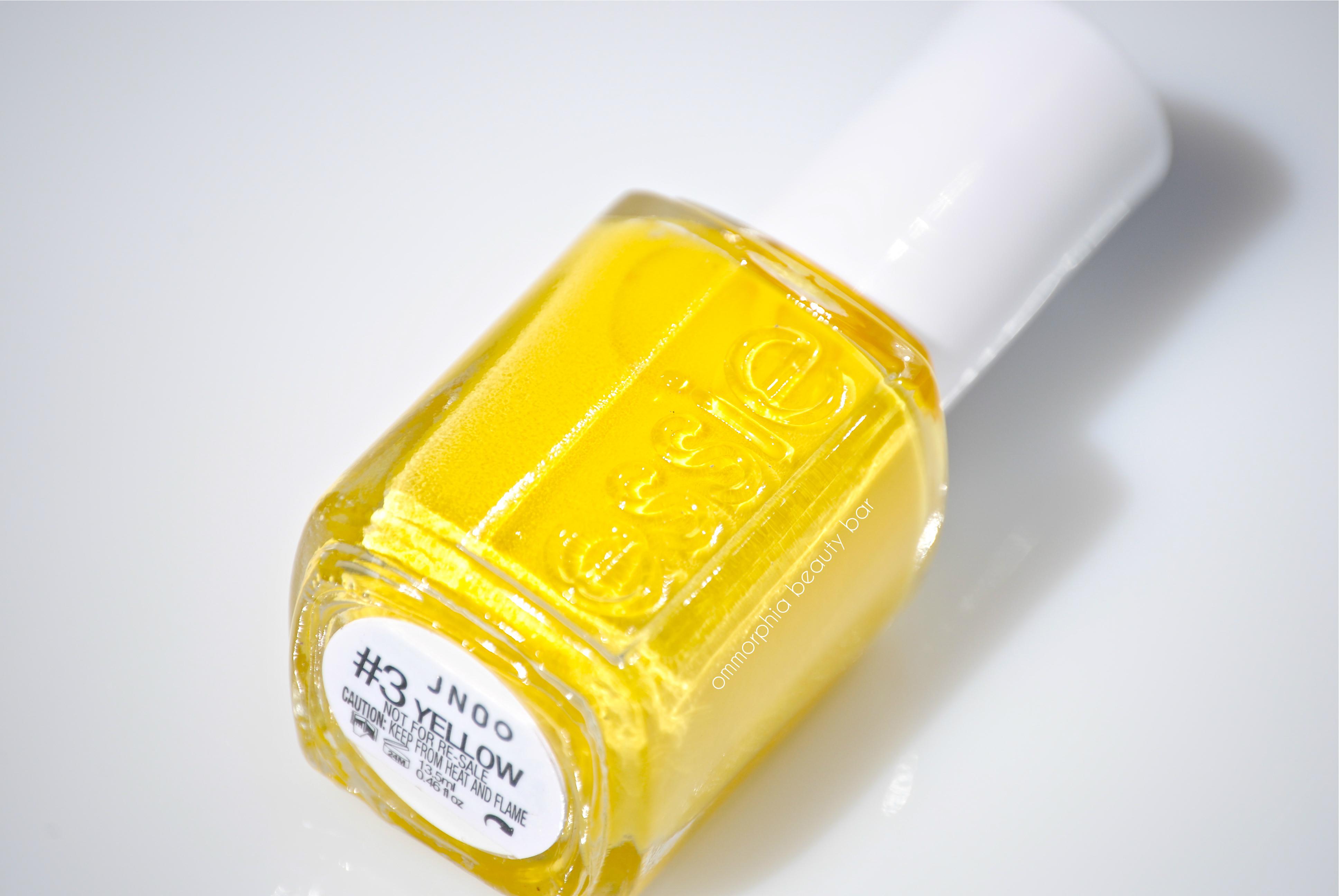 Yellow Essie Nail Polish 82