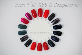 Essie Fall 2013 comparisons opener
