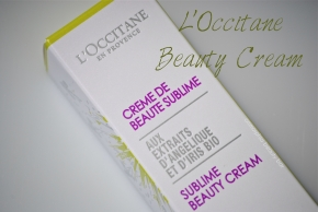 L'Occitane Beauty Cream opener