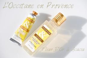 L'Occitane Fleur D'Or & Acacia opener