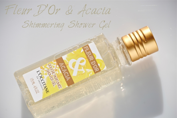 L'Occitane Fleur D'Or & Acacia Shimmering Shower Gel