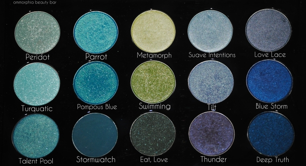 MAC Palette 4 oceanic shades