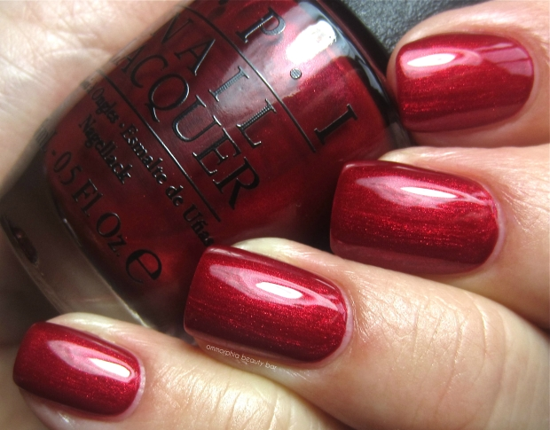 OPI In My Santa Suit swatch