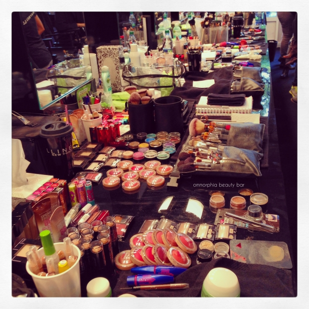 WMCFW backstage makeup 2