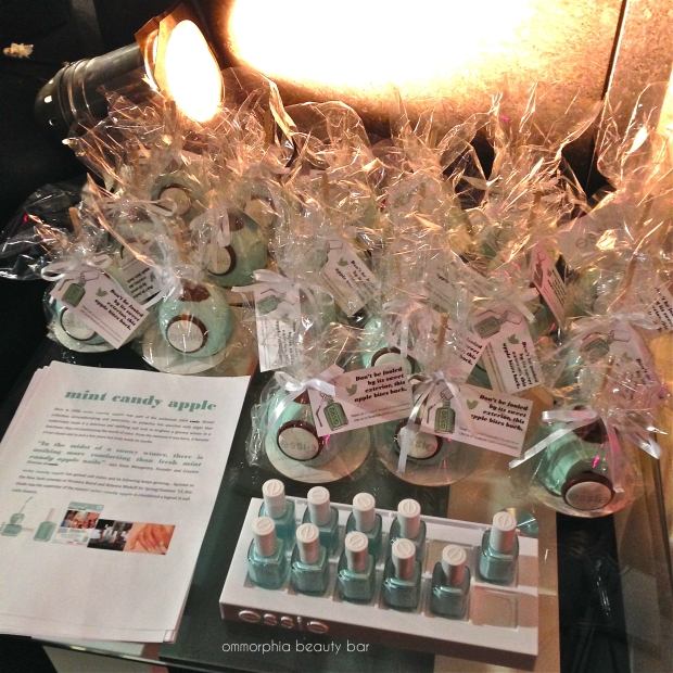 WMCFW Essie Mint Candy Apples