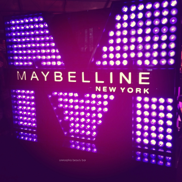 WMCFW Maybelline sign