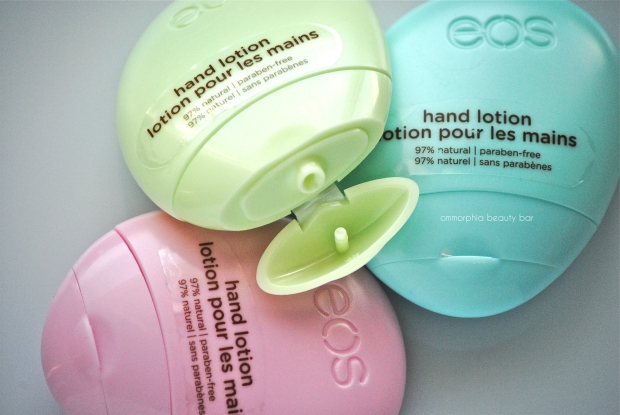 eos Hand Lotion dispenser