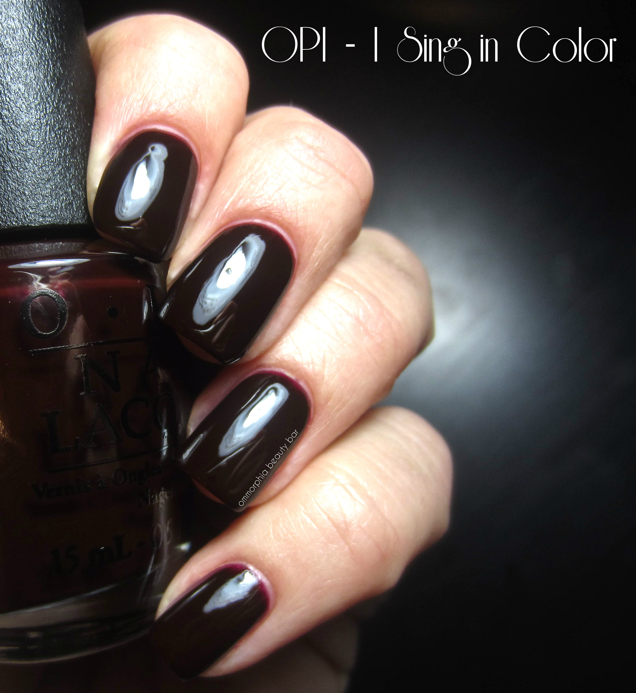 OPI I Sing in COlor swatch 2Opi I Sing In Color