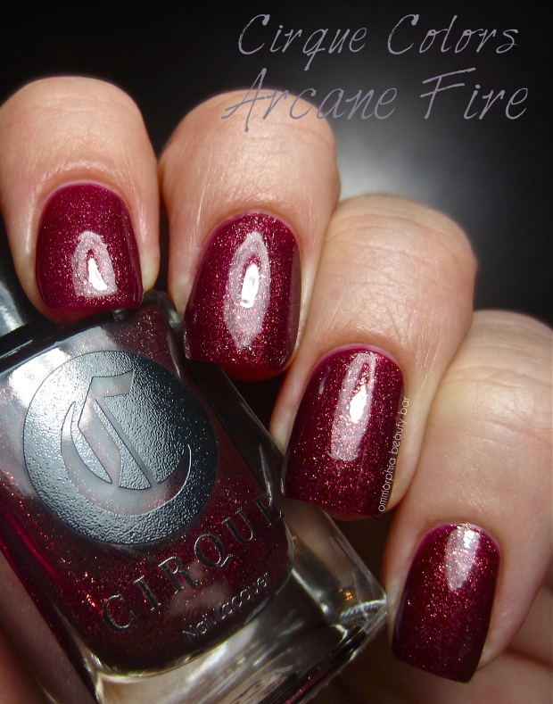 Cirque Arcane Fire swatch