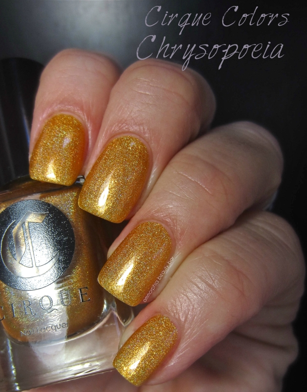 Cirque Chrysopoeia swatch