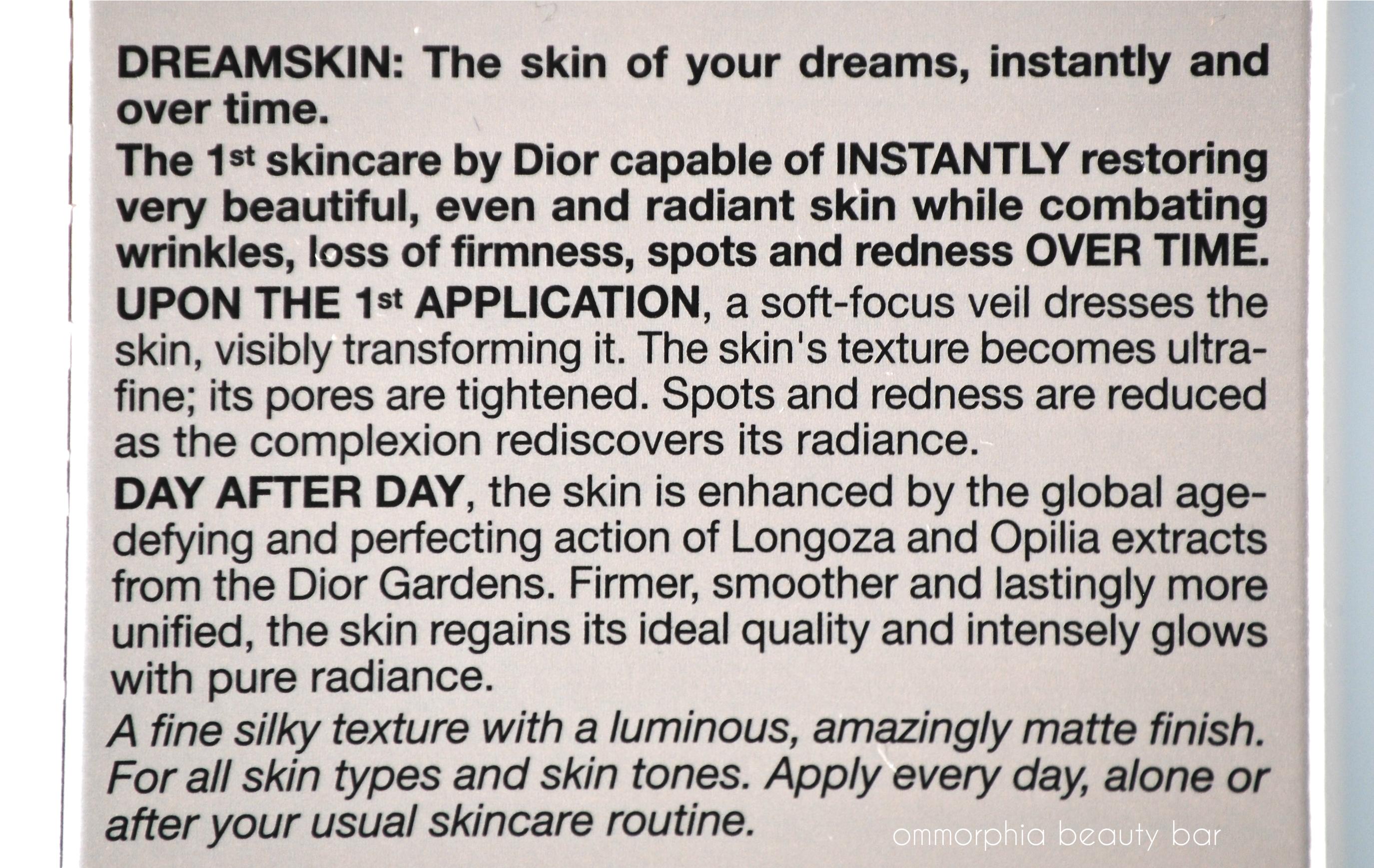 dreamskin dior price