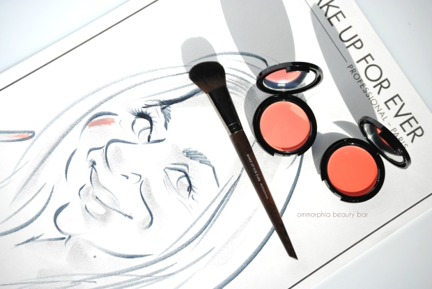 MUFE Second Skin Cream Blush & drawing