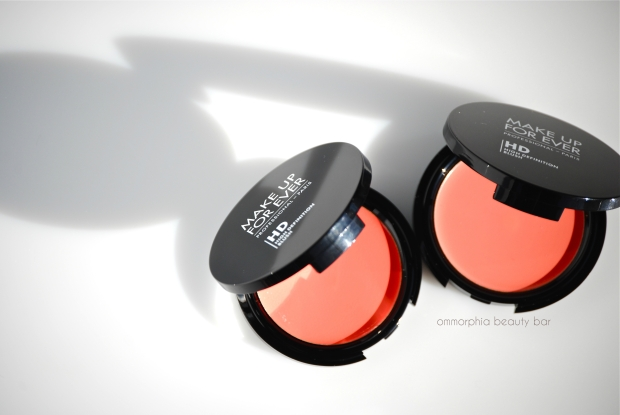 MUFE Second Skin Cream Blush open compact
