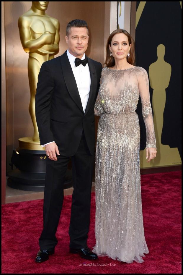 Brad Pitt & Angelina Jolie Elie Saab gown