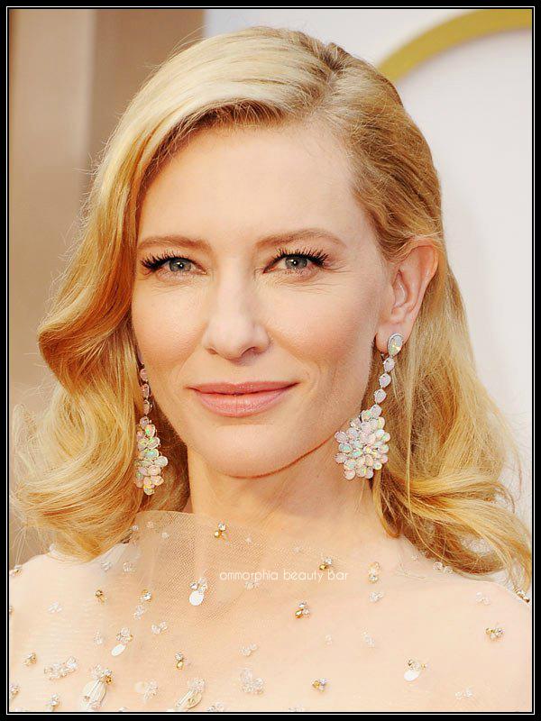Cate Blanchett makeup Oscars 2014