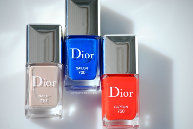 Dior Transat polishes