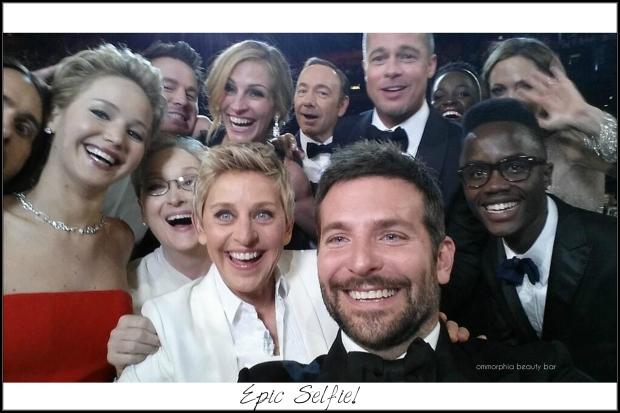 Ellen Degeneres Oscars epic selfie