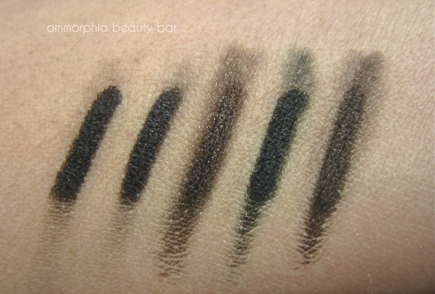 L'Oreal Eyeliner comparisons smudged sunlight