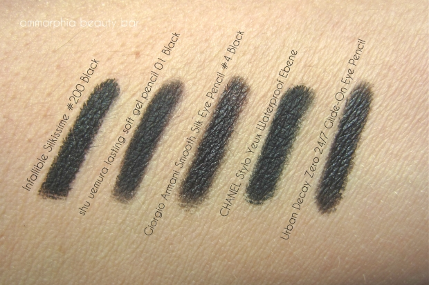 L'Oreal eyeliner comparisons