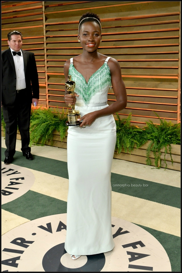 Lupita Nyong'o in bespoke Miu Miu after party