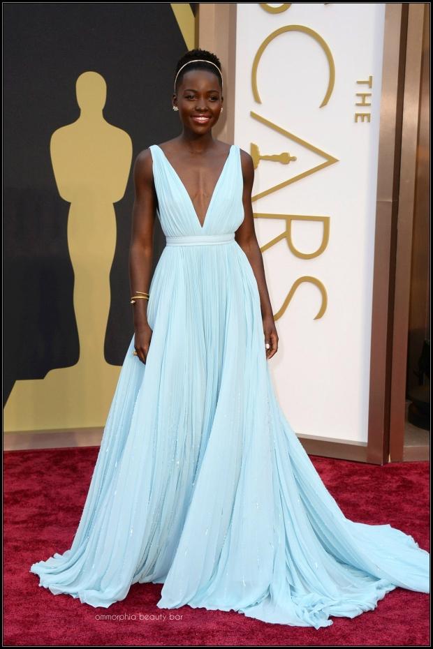 Lupita Nyong'o Prada gown