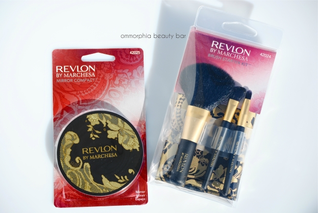 Revlon by Marchesa mirror & brushes