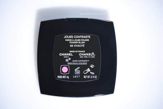 CHANEL Vivacite label