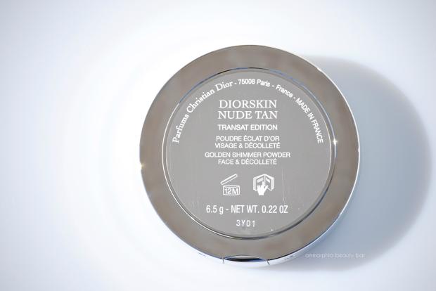 Dior Golden Shimmer Powder label