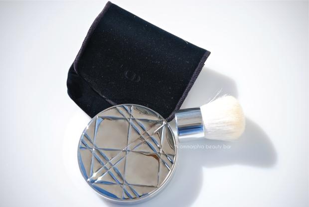 Dior Golden Shimmer Powder pouch